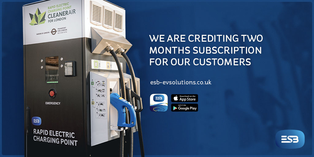 ESB Energy two month subscription credit